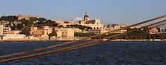 Cagliari e Gomene  in inverno (il neige sur Lige) Tags: city sea port mare porto urbanscape citt hawsers gomene scenariourbano