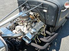 HotRod coupe POWER (bballchico) Tags: ford modela 5window coupe hotrod ratbastardscarshow engine ratbastardsinfestationcarshow 2014 206 washingtonstate