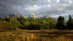 Taggart Lake Trailhead In The Morning - Video; Grand Teton National Park, Wyoming (hogophotoNY) Tags: morning usa us video unitedstates vivid wyoming teton tetons 2014 moosewyoming hogo wyomingusa moosewy hogophoto 808pureview 808pureviewcamera 808camera 808cameraphone