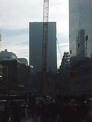 Ground Zero. September 29th 2001 (Tom Hannigan) Tags: newyorkcity newyork worldtradecenter 911 hero terrorism wtc september11 groundzero heros