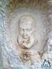 Volto scolpito nella roccia - Eremo di Santo Spirito a Majella - Abruzzo - Italy