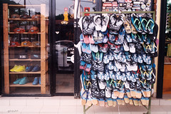 A slippers shop