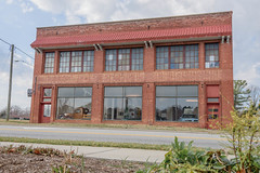 "Day 43/365- 2017 Edition- "" Old S&R Motor Company Building""- Kernersville, NC (Angela D Beck) Tags: building architecture brick nikon d750 nc northcarolina kernersville windows lines business ghostsign ghost sign city street downtown historicaldistrict old"