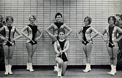 Majorettes (~ Lone Wadi ~) Tags: majorettes uniforms teamspirit retro 1970s boots