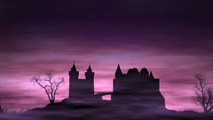 Spooky Castle 2 Looping Animation (globalarchive) Tags: seamless castle fun scream art dj experiment party 3d power spiders futuristic digital spooky scary computer fantasy cool render beautiful dream awesome holidays eerie amazing holiday concept abstract effects animated looping witches best ghosts modern pattern ghouls animation imagination candy geometric virtual halloween loop design kids creative fractal energy electric