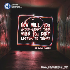 Quote of the Day: How Will You Understand... (Mehdi/Messiah Foundation International) Tags: deepthoughts divine divinity lettering listen listening quote quoteoftheday quotes thoughtoftheday truth typography understand understanding wisdom wisewords younusalgohar