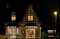 Louis Vuitton, Deauville, Normandy, France (Alona Azaria) Tags: louisvuitton normandy deauville city night shop vitrine france french designer store d800 nikon nikkor 2470mmf28
