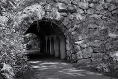 Ellicot Arch (jores59) Tags: boston mediumformat 6x9 bostonma olmsted 620film kodakfilm franklinpark fredericklawolmsted medalistii kodakmedalist bostonemeraldnecklace