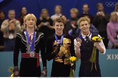 figure skating, olympics (barnchristal) Tags: world champion olympic figureskating alexeiyagudin evgeniplushenko