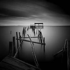 Are you sure this is the right place? (Joo Cruz Santos) Tags: longexposure blackandwhite bw portugal hoya carrasqueira