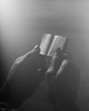 A difficult gift (Giovanni Savino Photography) Tags: light reading book hands gift difficult thumbs 4x5camera largeformatphotography smallbook magneticart ©giovannisavino rapidrectilinearlens 1910optics
