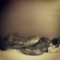 My jazz sneakers have officially danced their last show. RIP my faithful friends. (Serrobi) Tags: dancer danceshoes dancelife dancerforlife