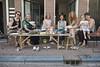 Group photo on pavement // BBQ at Bloemgracht (Merlijn Hoek) Tags: amsterdam nikon pavement strasse group stoep straat merlijn bloemgracht groep merlijnhoek nikond800
