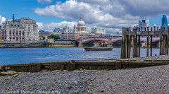 DSC_9721.jpg (Sav's Photo Gallery) Tags: city uk london beach river cityscape stpauls riverthames bankside d7000 savash