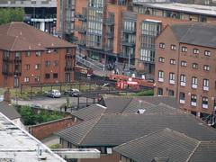 2014 Birmingham 073 (FrMark) Tags: city uk england building boat canal birmingham britain library basin gb navigation westmidlands narrowboat citylibrary libraryofbirmingham