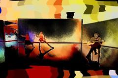 Foto-pintura - Performance musical / Photo-painting - Musical Performance (Valcir Siqueira) Tags: performance musical