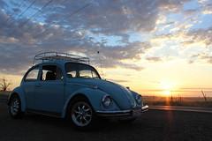 Sunrise :3 (its Jakey (Abandoned)) Tags: sun sex vw sunrise volkswagen photography beetle sec vwbug vwbeetle