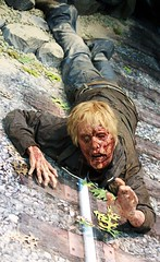 DEAD FRIEND. (RICHARD OSTROM) Tags: death blood open zombie gore undead sdcc fail 2014 thewalkingdead