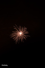 A star is born... (ZeGaby) Tags: night pentax fireworks 14 juillet k3 marne longexposuretime feuxdartifices condsurmarne 14juillet2014