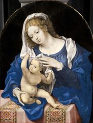 Madonna and Child (lluisribesmateu1969) Tags: virgin thehague gossaert mauritshuisroyalpicturegallery