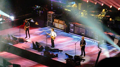 Paul McCartney Out There Tour Chicago 2014 (spablab) Tags: chicago illinois unitedcenter paulmccartney outthere tour live show performance beatles wings rock pop paul wix wickens brian ray rusty anderson abe laboriel jr mccartney classic fuji provia 100f concert