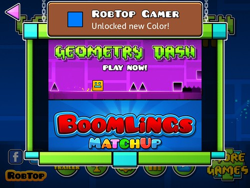 Geometry Dash Cross Promotion: screenshots, UI