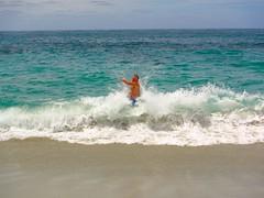 IMG_0919 (Juliana Beletsis) Tags: ocean sea summer man beach water fun sandiego shoreline wave lajolla southerncalifornia splash shorebreak