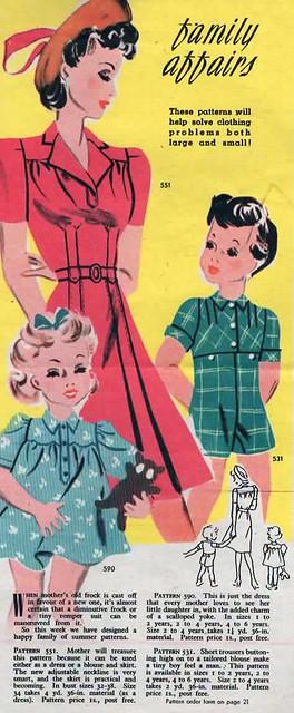 woman vintage magazine women retro 1942