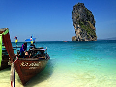 Long Boat Krabi (j.gaya1) Tags: beach thailand longboat aonang