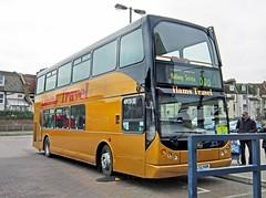 Hams Travel of Flimwell MC52HAM (harryjaipowell) Tags: bus station volvo coach hastings eastlancs myllennium b7tl railreplacementbusservice flimwell vyking hamstravel mc52ham nc4632f