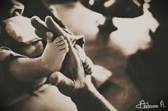 Bras de fer avec un bb (Ambroise Abondance) Tags: baby canon eos iron hand fingers fer bras abondance ambroise notredamedupr ambroisee ambroiseabondance