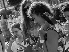 Festival «Moscow Jam-2014» (Andrey  B. Barhatov) Tags: street people urban blackandwhite bw outdoors noir russia outdoor moscow sunday olympus streetphoto msk ru observer whiteonblack olympuslens blackandwhiteonly msknoir olympuspenepl6