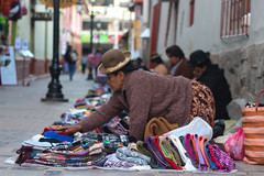 Street sellers in Puno (Hannah_Kirkland) Tags: