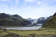 Morsárjökull glacier, Skaftafell (Vatnajökull National Park)