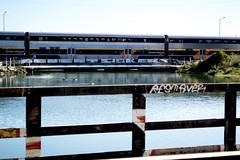 dement osker (_unfun) Tags: graffiti amtrak dement osker