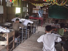 Takok Phnong (United World Schools) Tags: school cambodia classroom class learning teaching