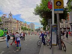 Dublin town. (Briget Murphy) Tags: bikes bicycles hunkymen brigetmurphy