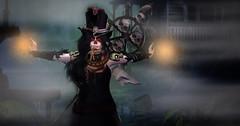 Voodoo Hoodoo (Darkykins) Tags: fashion skin spooky bayou fantasy secondlife fashions thefantasycollective