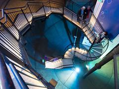 Lüneburg - Treppe im Wasserturm (Teelicht) Tags: tower stairs germany deutschland watertower treppe staircase turm wasserturm 52 dagmar lüneburg niedersachsen lowersaxony