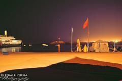 "Beach ""Night"" (freeballpersia) Tags: beach night 35mm photography nikon surf flag playa best morocco maroc plage rabat nikond3200 temara rabatcity"