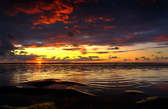 August Sunset Freshfield beach (frazerweb) Tags: