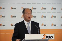 Carlos Carreiras em Declaração à Imprensa