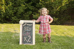twins (MFer Photography) Tags: girls portraits twins cowboy babies boots little birth pregnancy announcement maternity mferphotography