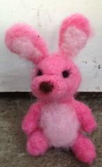 needle felted blythe pet rabbit