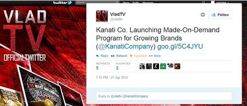 VladTV X Kanati Co. Made-On-Demand Cut & Sew Program