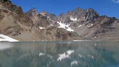 Mount Anderson and Lake (Mike Dole) Tags: washingtonstate olympicnationalpark honeymoonmeadows mountanderson westforkdosewallipsriver