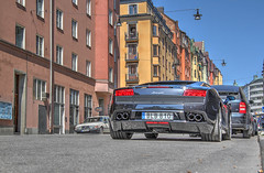 Lamborghini (AyaxAcme) Tags: europa europe sweden stockholm schweden sverige scandinavia lamborghini hdr estocolmo stoccolma suecia escandinavia geo:country=sweden geo:region=europe potd:country=es