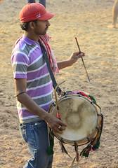 the drum roll for Kushti | Indian wrestling ([s e l v i n]) Tags: india men sports fight village action muscle wrestling battle fighting punjab combat wrestle actionphotography indianmen kushti indianwrestling pehlwan selvin indiankushtiwrestling
