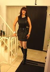 Hi! Welcome back to my home.... (ailananata) Tags: sexy stockings leather fetish highheels dress boots boobs curvy redhead tgirl transgender tranny brunette mistress milf crossdresser nylon domme lbd hourglass dominatrix domina shemale minidress transvestit tighs hugebreasts
