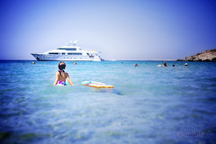 yesterday ... (Ourania2005) Tags: beach eva greece seaswimming syrosisland agathopes summer2014